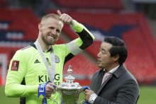 Leicester's FA Cup Triumph 'What Dreams Are Made Of' For Kasper Schmeichel