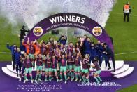 Barcelona Thrash Chelsea To Win Maiden Women's Champions League Title