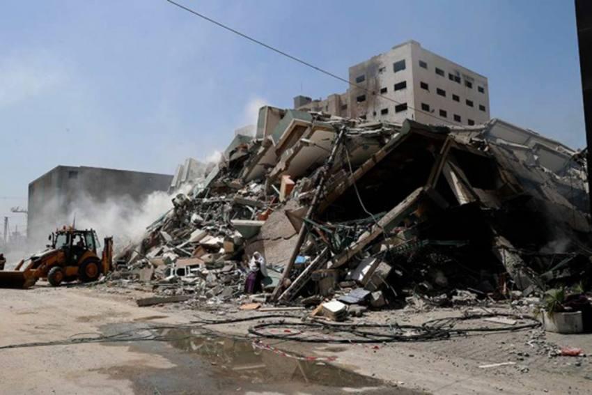 Israel Hasn't Provided Evidence Of Hamas Operations In Media Building Destroyed In Gaza: Blinken