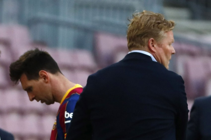 'Impossible' For Barcelona To Play Without Lionel Messi, Claims Ronald Koeman After Defeat To Celta Vigo