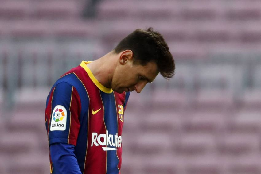 Santi Mina Double Ends Barcelona's La Liga Title Hopes As Celta Vigo Win 2-1 At Capmp Nou