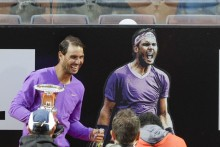 Rafael Nadal Knows 'How To Handle The Pressure' After Claiming 10th Internazionali d'Italia Title