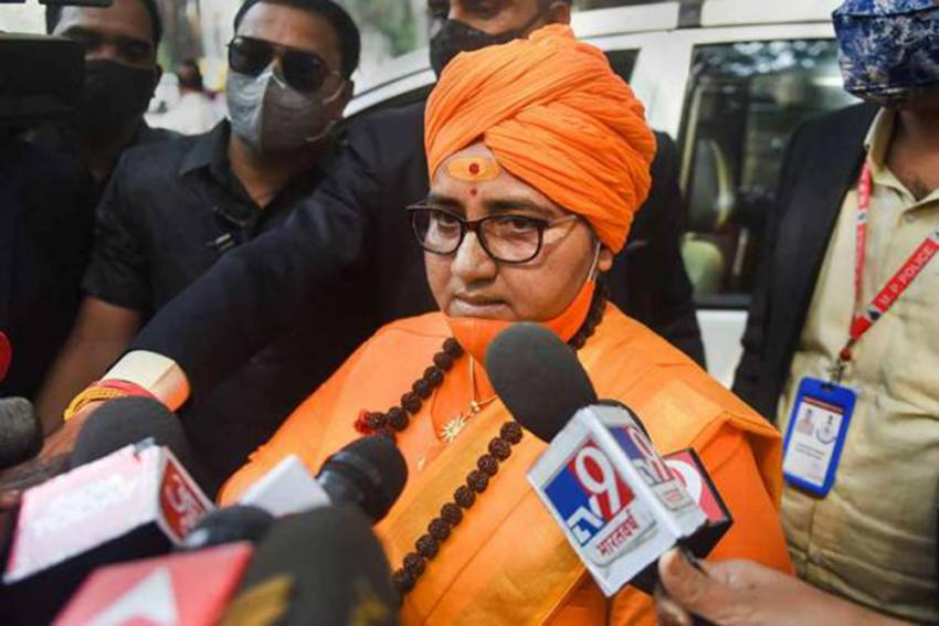 'Cow Urine Eliminates Lung Infections Caused Due To Covid': BJP MP Pragya Thakur