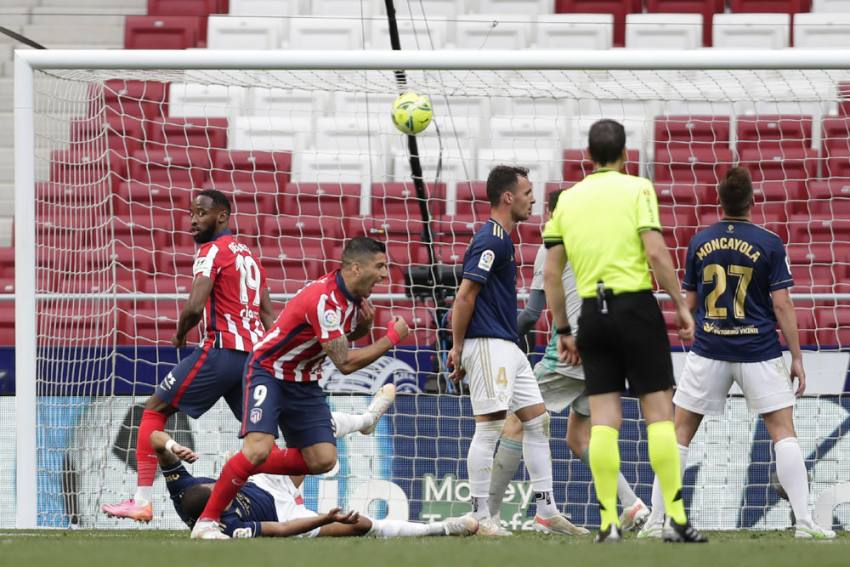 Atletico Madrid's La Liga Title Hopes In Own Hands Thanks To Late Luis Suarez Winner Against Osasuna