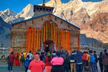 Portals Of Kedarnath Temple Open In Uttarakhand Amid Strict Covid-19 Protocol