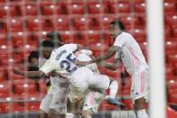 Nacho Fernandez Keeps Real Madrid's In La Liga Title Hunt Ahead Of Final Day