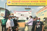 Bangladesh Sends Second Consignment Of Essential Medical Aid To India