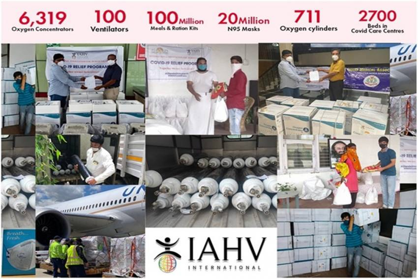 IAHV Works Relentlessly Towards Covid Relief Work: Phase 1 Provides Relief Worth Rs 100 Crore