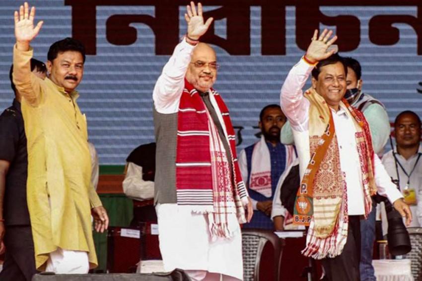 BJP Romps Home In Assam With Maha Shock To Mahajot