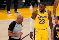 NBA: LeBron Drains Late Three As Lakers Progress To Playoffs, Warriors To Face Grizzlies