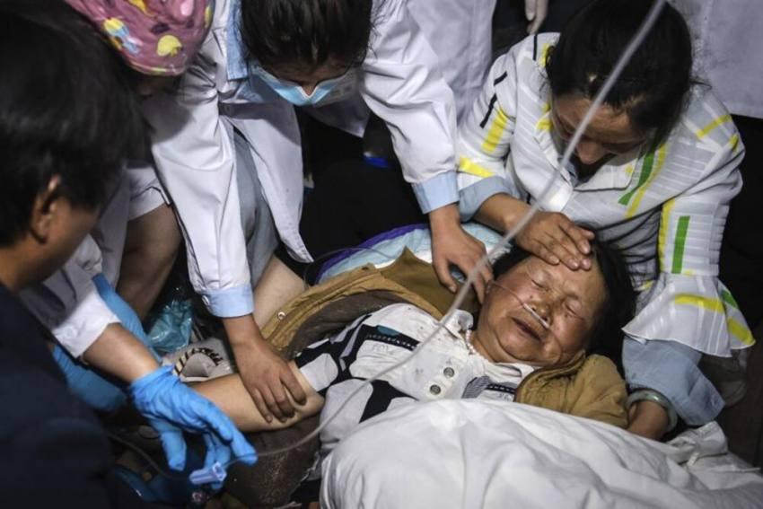 Magnitude 7.3 Earthquake Strikes Central China