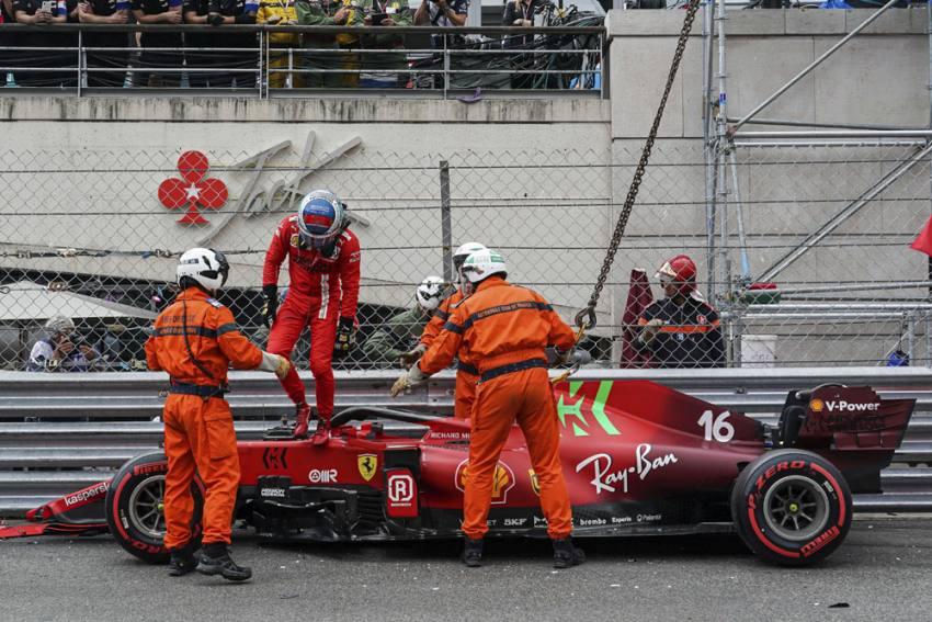 Monaco Grand Prix: Charles Leclerc Takes Pole But Ferrari Star's Crash Leaves Rivals Frustrated
