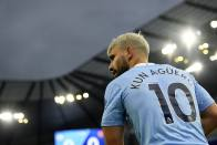 Sergio Aguero Starts Final Premier League Game For Man City On The Bench