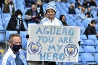 Sergio Aguero Beats Wayne Rooney's Manchester United Record On City Farewell