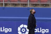 Barcelona Coach Ronald Koeman Defends His First Season: 'You Cannot Ask For Two Trophies Every Year'