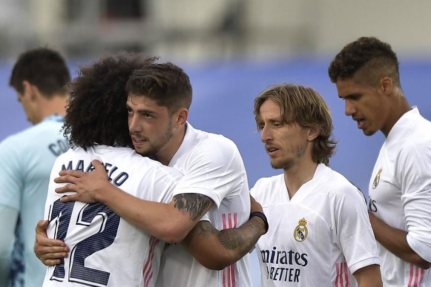 Real Madrid's La Liga Title Hopes Shattered As Atleti Pip Zinedine Zidane's Los Blancos