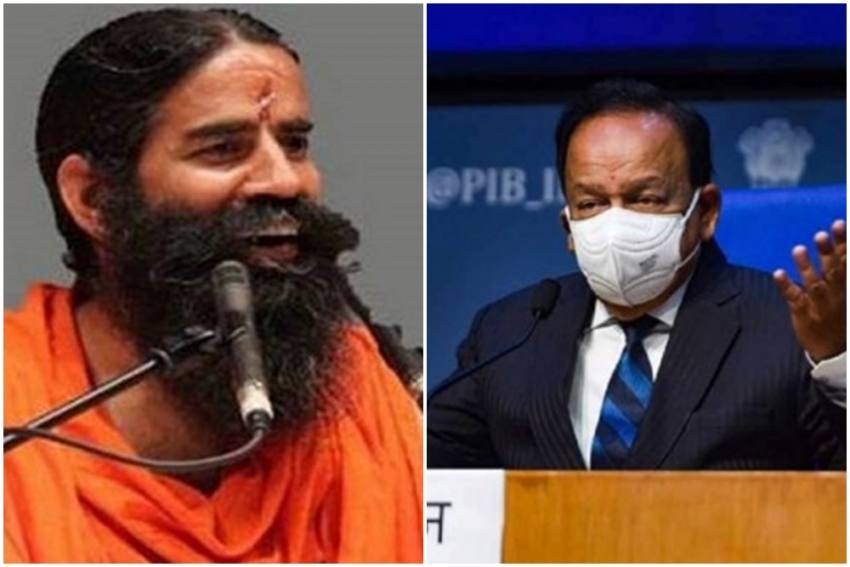 Statement On Allopathy Can Weaken Fight Against Covid, Withdraw It: Harsh Vardhan To Ramdev