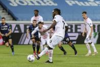 AC Milan Beat Atalanta 2-0 To Complete Champions League Return