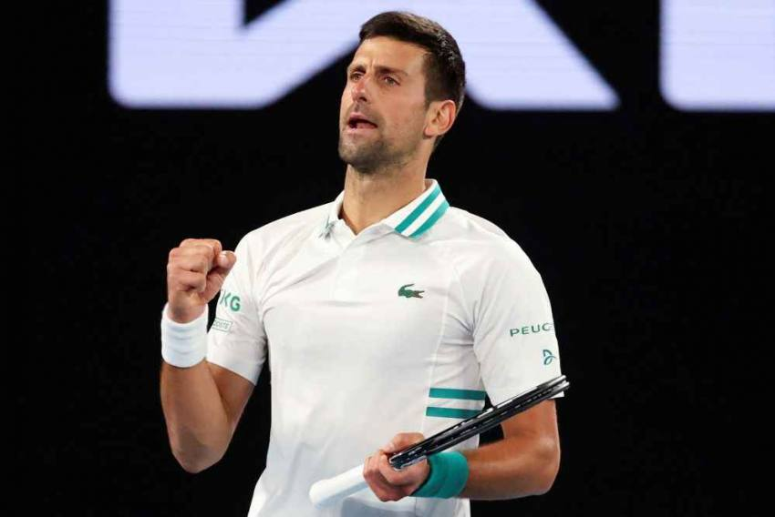 Novak Djokovic Revels In 'Perfect' Display After Easing Past Federico Coria For Milestone Victory