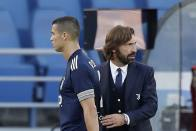 Cristiano Ronaldo Thanks Former Juventus Boss Andrea Pirlo