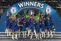 Chelsea Beat Manchester City 1-0 To Win Champions League With Kai Havertz Goal