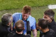 Champions League Final: Kevin De Bruyne Confirms Fractured Nose And Orbital After Antonio Rudiger Collision