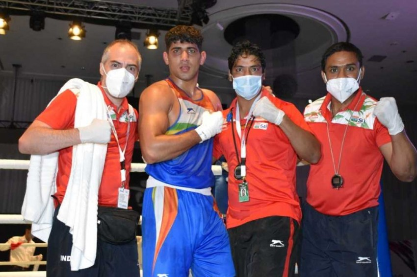 Asian Boxing Championships 2021: Sanjeet Clinches Gold For India, Silver For Shiva Thapa, Amit Panghal - Highlights