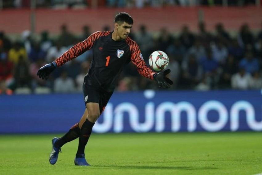 India Custodian Gurpreet Singh Says Goalless Draw Against Qatar Is Not His Best Performance