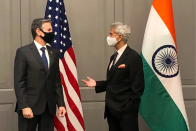 Ahead Of G7 Foreign Ministers' Meet, Jaishankar Meets US Secretary Of State Blinken
