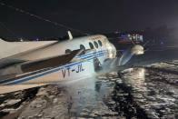 Air Ambulance Makes Belly-Landing At Mumbai Airport; Passengers Safe