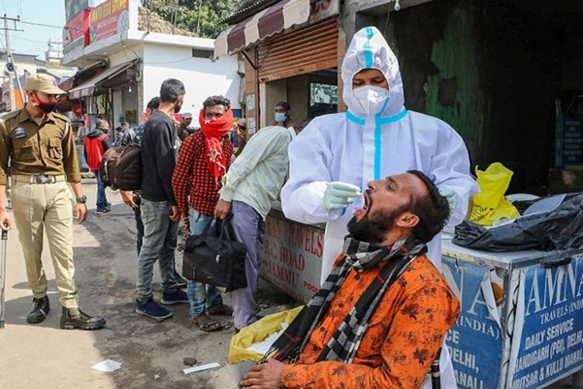 Covid Surge: Jammu And Kashmir Reports 228 Deaths In Five Days