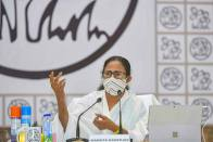 Mamata Alleges Central Ministers Incited Post-Poll Violence In West Bengal; Announces Compensation For Victims' Families