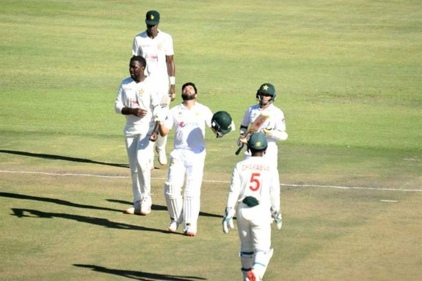 ZIM Vs PAK, 2nd Test, Day 1: Pakistan Centurions Abid And Azhar Dominate Before Muzarabani Hits Back For Zimbabwe