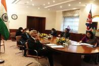 Jaishankar Holds Talks With UK Counterpart On Bilateral Trade, Covid Cooperation
