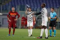 Edinson Cavani's Double Sends Manchester United To Europa League Final Despite Loss To Roma