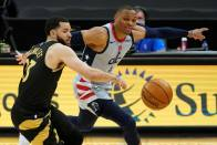 NBA Record Looms For Wizards' Westbrook, Mavs Take Down Slumping Nets And Clippers Top Lakers