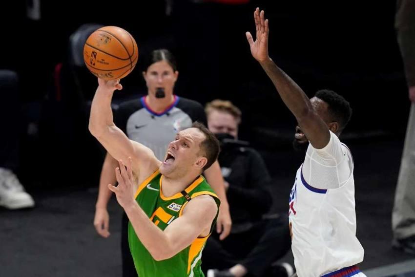 NBA: Career High For Bojan Bogdanovic Keeps Jazz On Top In West As Suns Rally Past Knicks