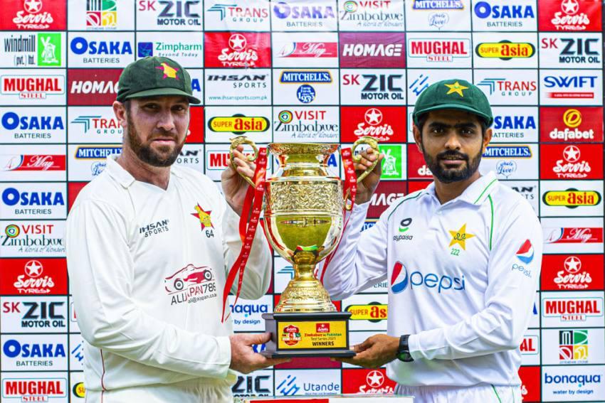 ZIM Vs PAK, 2nd Test, Day 2, Stumps: Zimbabwe 52/4 Trail Pakistan By 458 Runs - Highlights