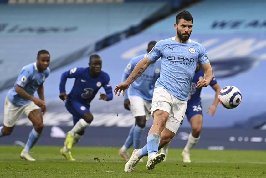 Aguer-woe! Sergio Apologises For Fluffed Panenka In Manchester City's Defeat To Chelsea