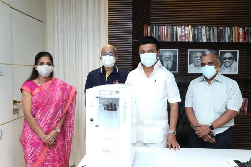 Chennai Super Kings Arrange Oxygen Concentrators For COVID-19 Patients