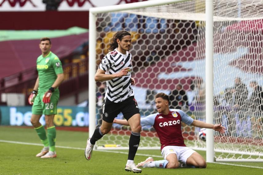 Manchester United Beat Aston Villa, Man City's Premier League Title Celebration On Ice