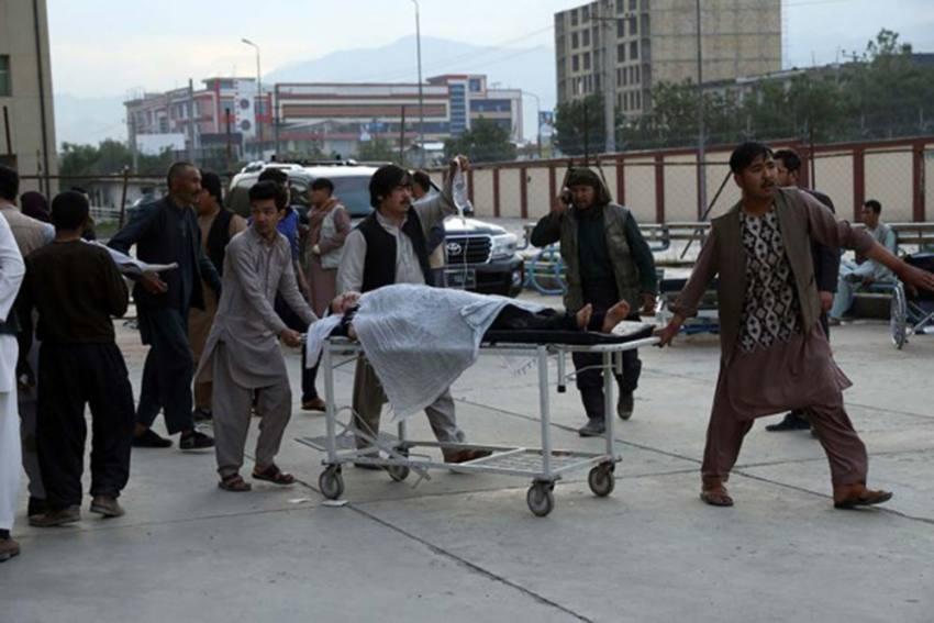 Explosion Near Girls' School In Kabul Leaves 30 Dead