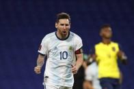 Lionel Messi, Angel Di Maria And Sergio Aguero In Argentina's Copa America Squad