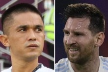 Days After Breaking His Record Sunil Chhetri Says,  When Sad, I Watch Lionel Messi's Videos