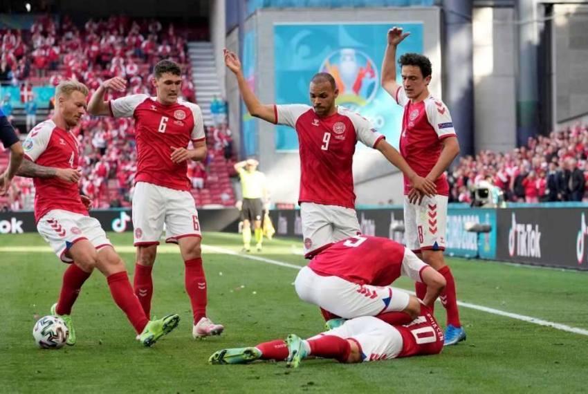 Euro 2020: Denmark Captain Christian Eriksen 'Awake' In Hospital After Pitch Collapse