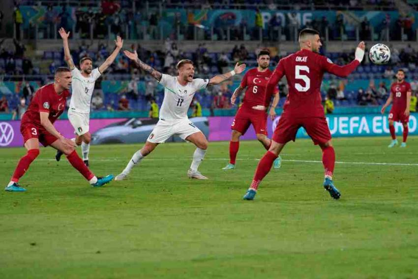 Euro 2020: Italy-Turkey Opening Game Sets Tone For UEFA's New Handball Law