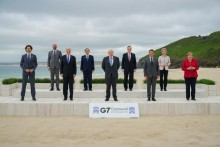 G-7 Leaders Pledge 1 Billion Vaccine Doses To Poor Nations
