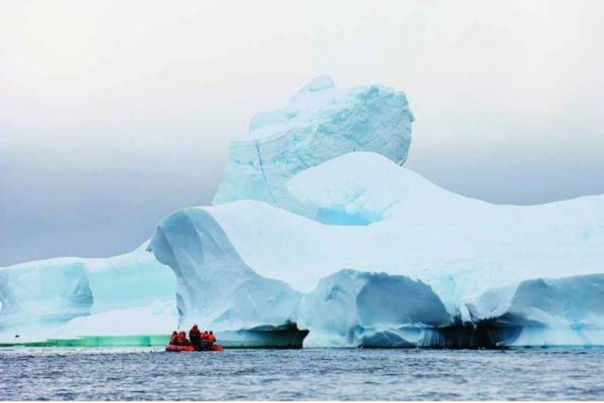 Ice Shelf Protecting Antarctic Glacier Breaking Faster Than Before
