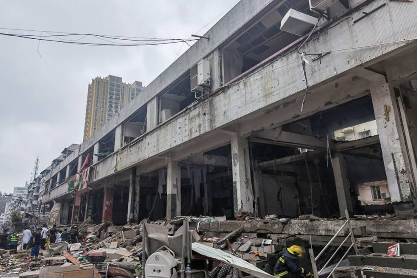 11 Killed, 37 Seriously Injured In Huge Explosion In China's Hubei Province, Video Surfaces
