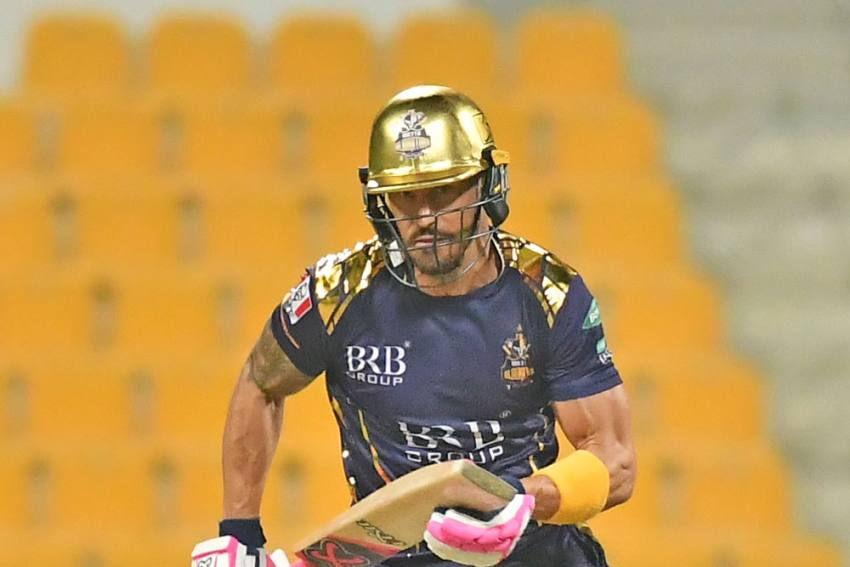 PSL 2021: Faf Du Plessis Has 'Concussion With Some Memory Loss' After Scary Collision